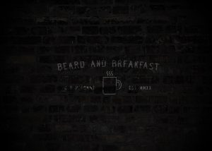 Beard and Breakfast Logo Background